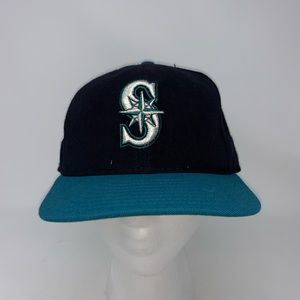 Seattle Mariners Fitted Hat Size 7 1/2